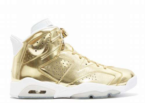 Air Jordan 6 Pinnacle Metallic Gold